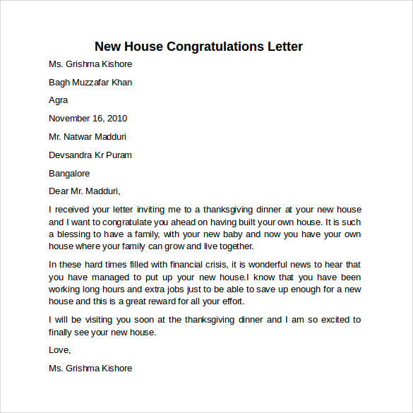 Pin Congratulation Letter On Pinterest