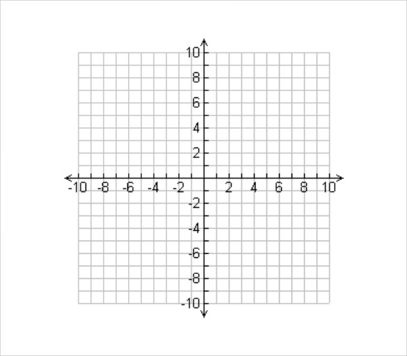 free 8  numbered graph paper templates in pdf