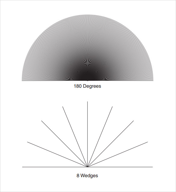 numbered graph with 180 degree