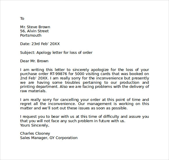 Sample Apology Letter To Your Boss Ieltssimon IELTS General – Letter of Apology to Boss
