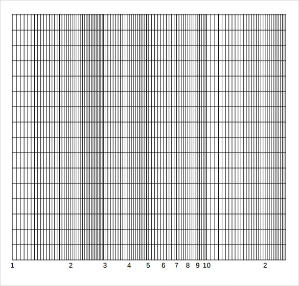 7  sample log graph papers
