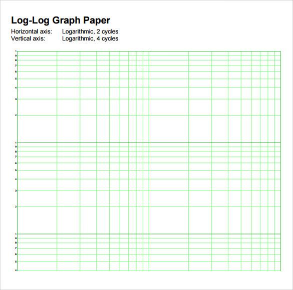 Printable Log Log Graph Paper Printable Editable Blank – Graph Sheet Download