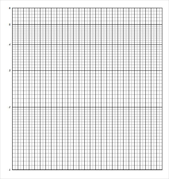 Semi Log Graph Paper Template Doc
