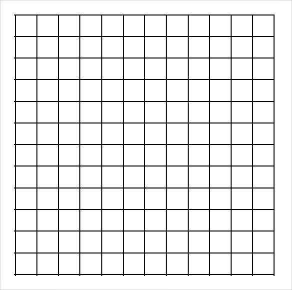 Printable Graph Paper Printable Peyote Graph Paper Template Sample