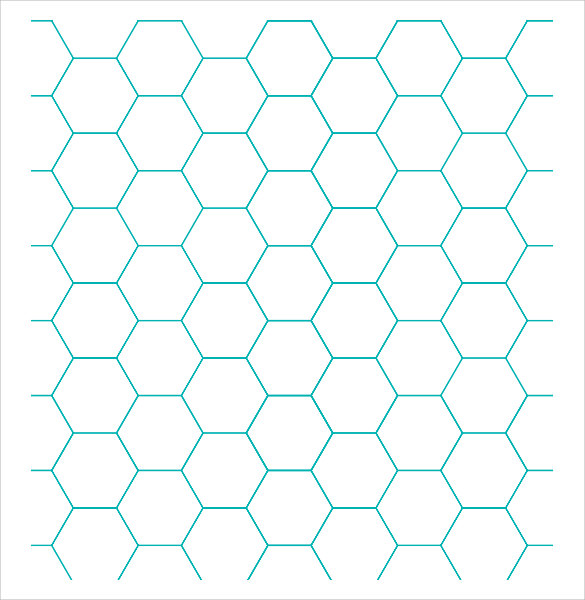 hexagonal graph paper download