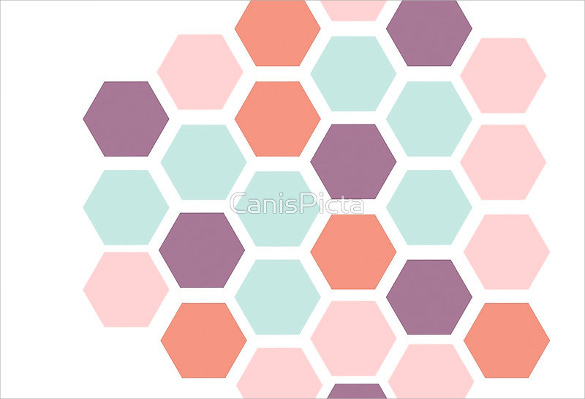 8  sample hexagonal graph papers