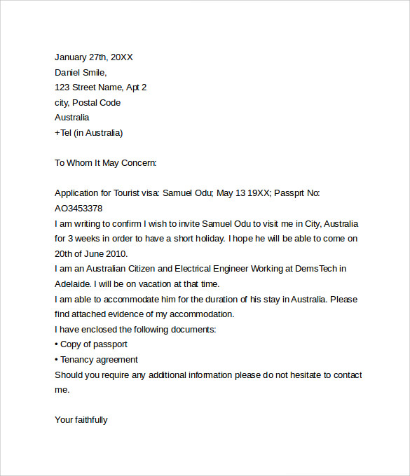 cover letter for german student visa application