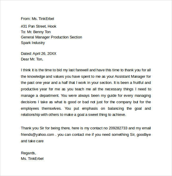 Goodbye Letter. Goodbye Letter To Students A-Teachers-Letter Jpg 7