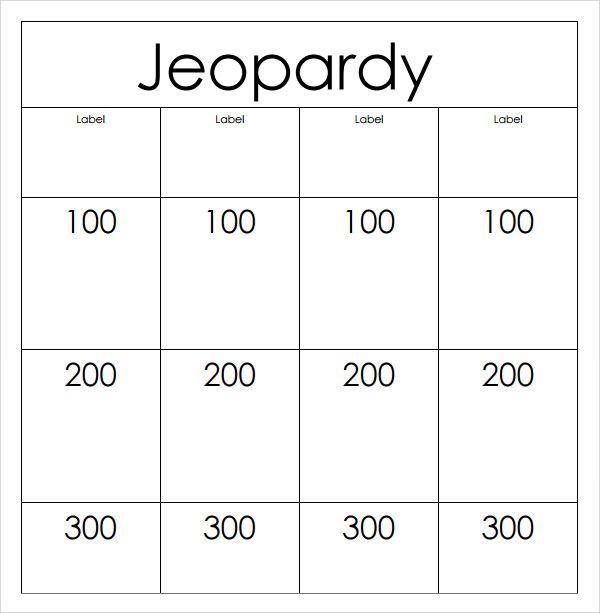 Jeopardy Template Smartboard Sle Jeopardy 6 Documents In Pdf Ppt