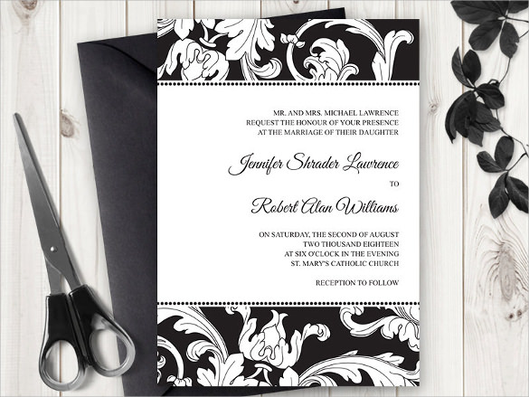 Sample Formal Invitation Template - 18+ Download In Psd, Eps