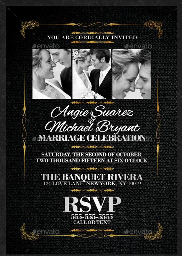 classy invitation template