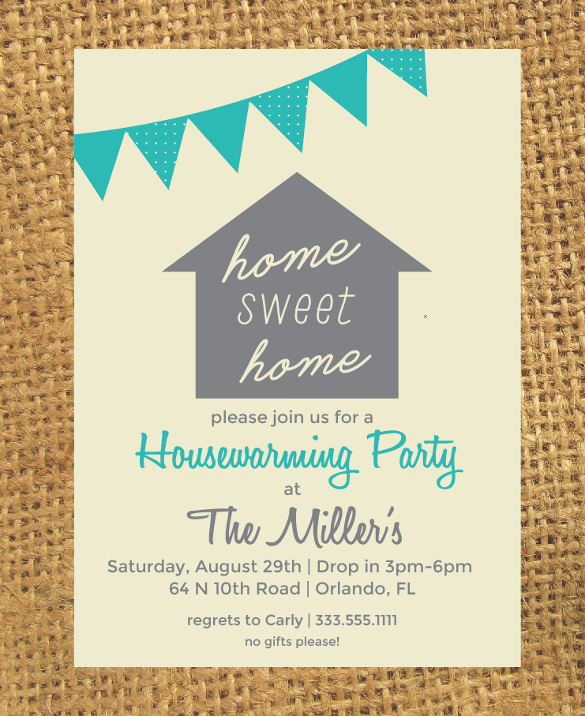Sample Housewarming Invitation Template - 11+ Download Documents in PSD, Vector