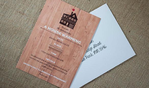 simple housewarming invitation template