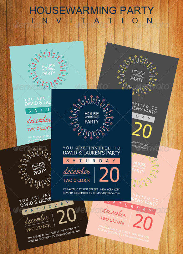 Sample Housewarming Invitation Template   Download Documents In
