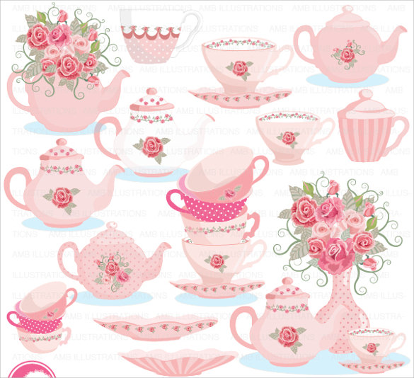 Sample Tea Party Invitation Template   Download Free Documents