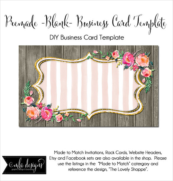 Custom Card Template template name card free download : ... Invitation Templates - 12+ Download Documents in PDF , PSD , Vector