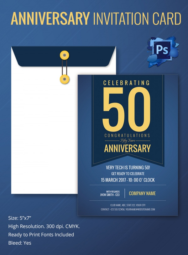 Sample invitation letter for church anniversary celebration sample invitation template download premium and free stopboris Choice Image