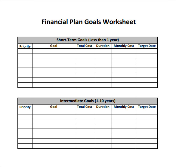 downloadable financial plan template