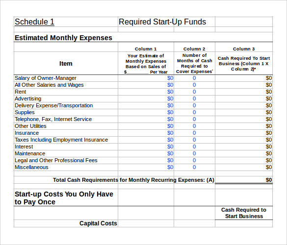 investment plan template xls 10 sample financial plans sample templates