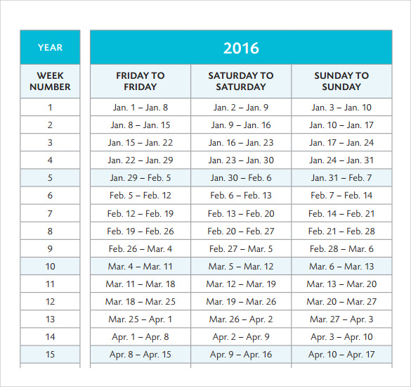 vacation planning calender template