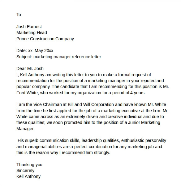 Employee Recommendation Letter Wwwlleryhip The Professional