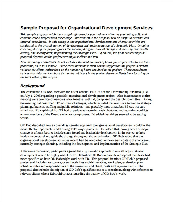 service proposal template example