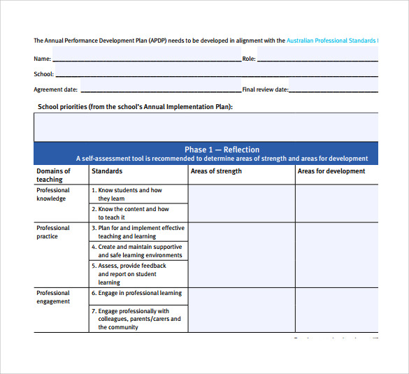 annual personal development plan When annual reviews at but the success of your personal annual review is dependent this is a key resource i used in the development of my 2011 plan of action.