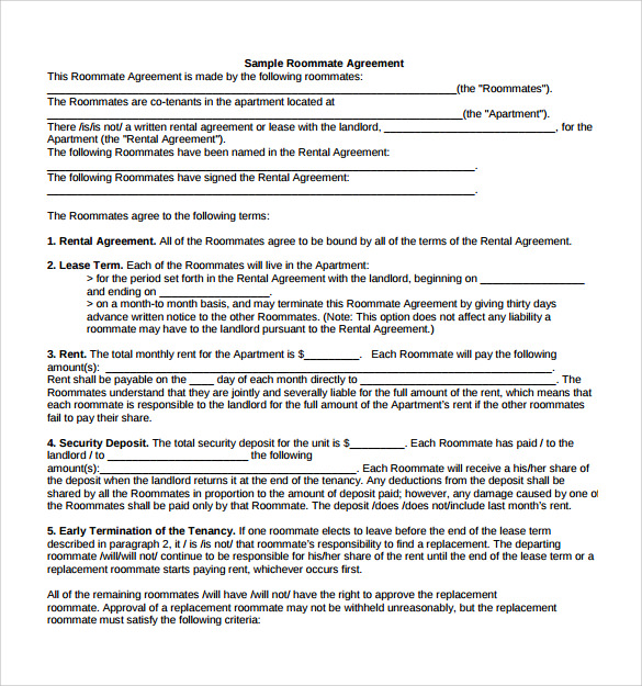Month To Month Rental Agreements. Standard Version | Pdf | Word ...