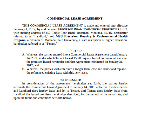 downloadable commercial lease agreement pdf