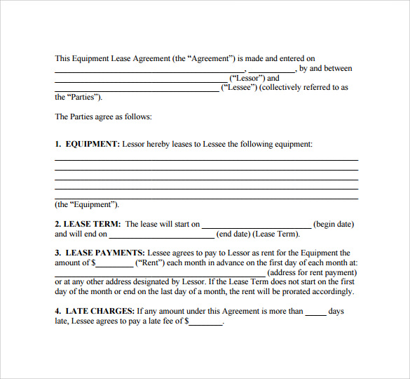 basic lease agreements - solarfm.tk