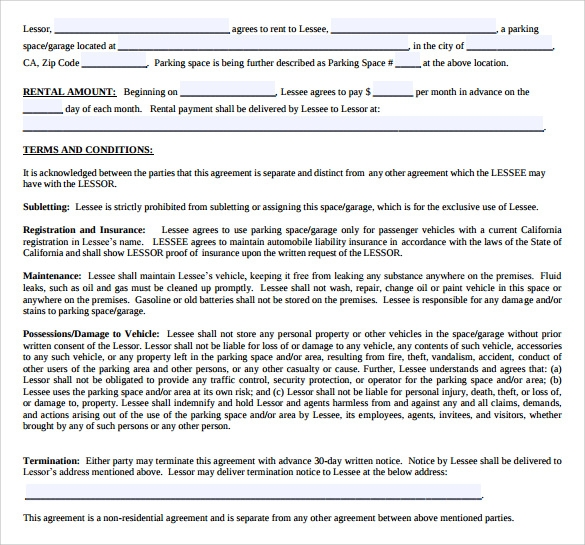 Free Washington MonthToMonth Lease Agreement Pdf – Free Residential Lease Template
