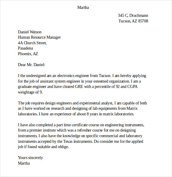 7 fax cover letters free sample example format - Cover Letter Sample Format
