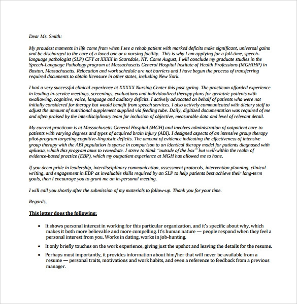 nursing cover letter template pdf - Nursing Cover Letter Template