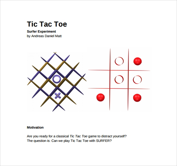 simple tic tac toe template%ef%bb%bf1