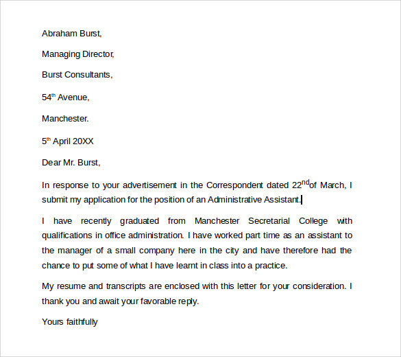 experienced medical transcriptionist cover letter The transcriptionist cover letter can be either for a medical transcriptionist job or a legal transcriptionist job study both types of letters before making one for.
