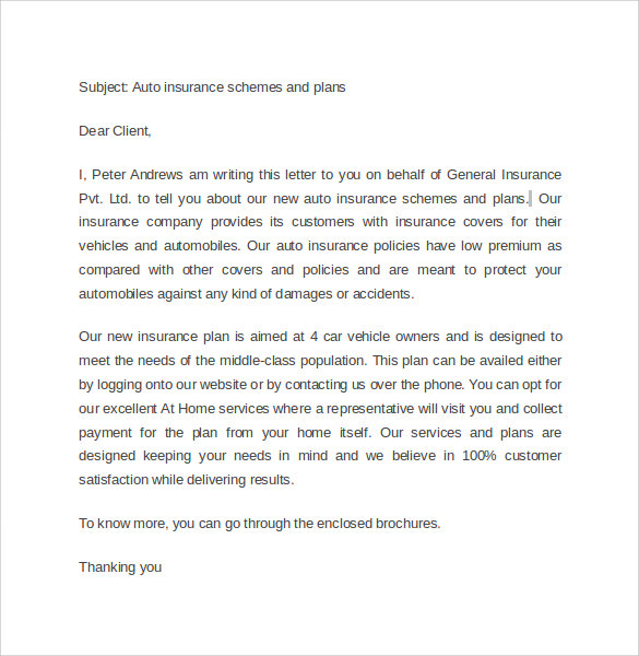 Marketing Cover Letter - 7 + Samples , Examples , Format