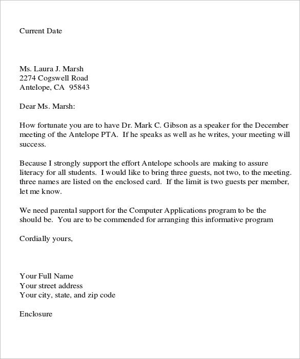 Sample Personal Business Letter     7 Samples Examples Format 5O3bQTSz