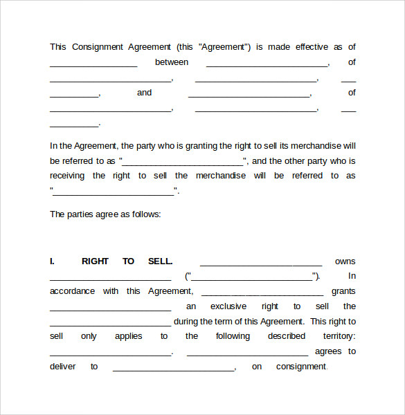 Consignment Form Tolg Jcmanagement