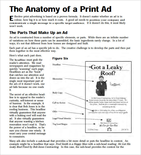 paper advertisement templates - sample newspaper ad template 7 documents in pdf word