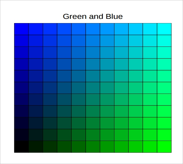 Rgb Color Chart. For Designers: Online Picker Retrieves Color