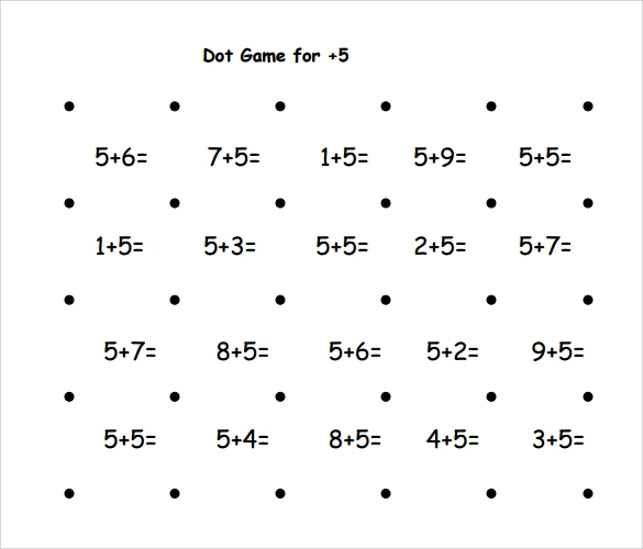 sample dot game template