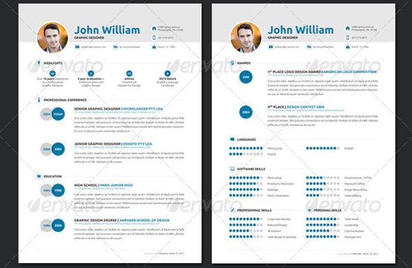 Charming In Design Designer Resume Template