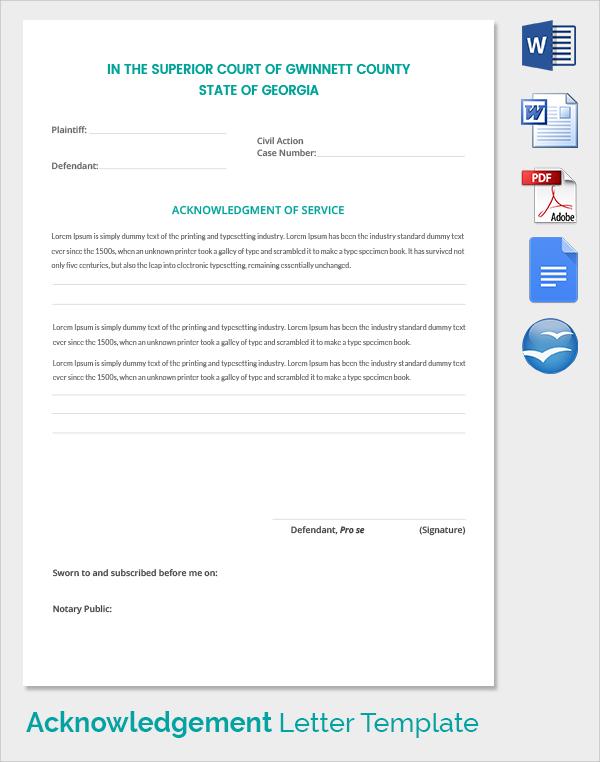 Court Receipt Template receipts acknowledgement receipt payment – Receipt of Goods Template