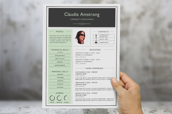 Sample Photographer Resume Template - 19+ Download In Pdf, Psd, Word