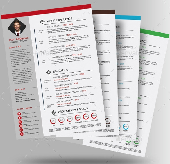 Sample Photographer Resume Template   Download In Pdf Psd Word