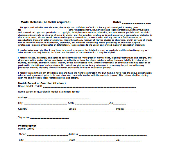 Tattoo Release Form Templates to Download for Free