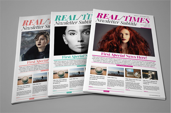 newspaper layout download