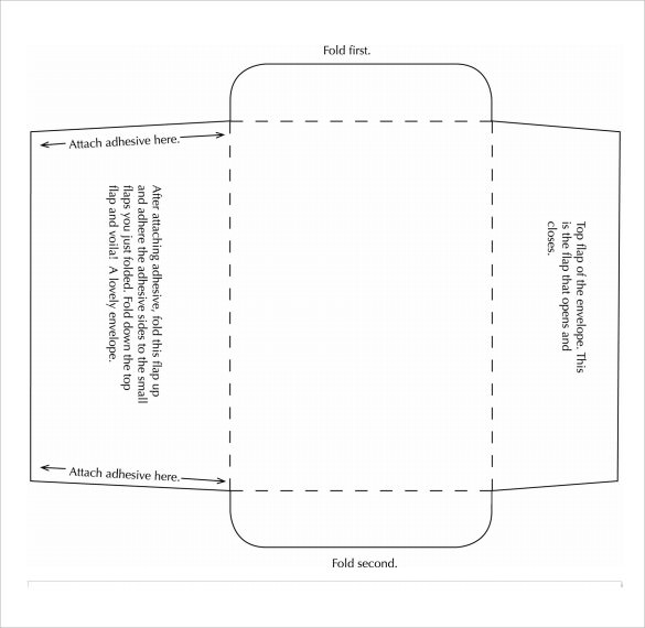 Small Envelope Template 7+ Samples , Examples , Format