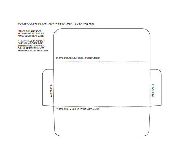 Small Envelope Template 8 Samples Examples Format