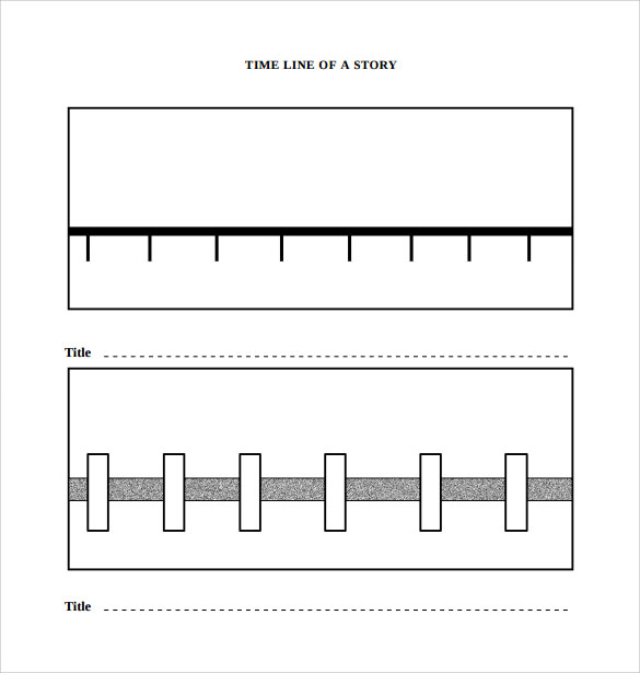 downloadable blank timeline template
